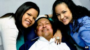 Hugo Chavez shown recovering in hospital