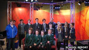St Columb's College, St Cecelia's College, Oakgrove Integrated and Lisneal College students