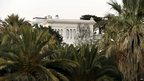 A villa that belonged to the late Gabonese leader Omar Bango, Nice, France - Wednesday 13 February 2013