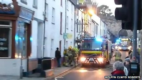 Conwy fire