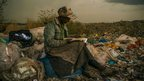 Micah Albert's photograph of a trash picker