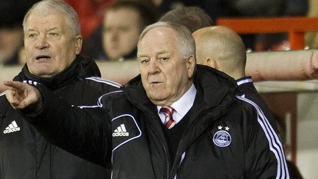 Aberdeen manager Craig Brown