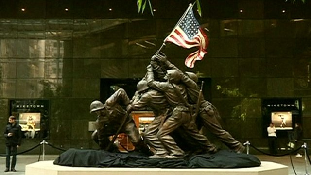 Iwo Jima statue