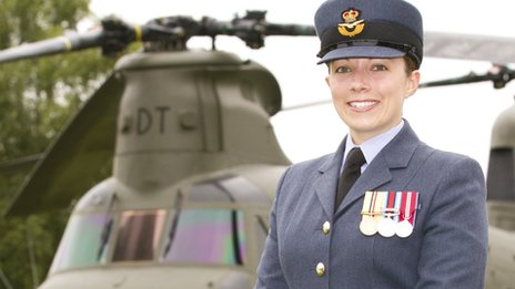 Flight Lieutenant Fran Capps was described as &quot;an exceptional person&quot;