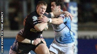 Dragons v Glasgow