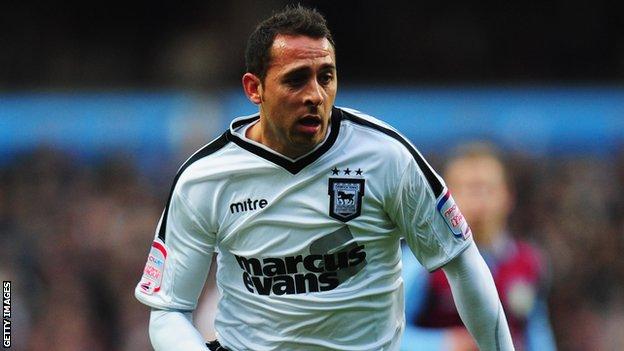 Ipswich's Michael Chopra