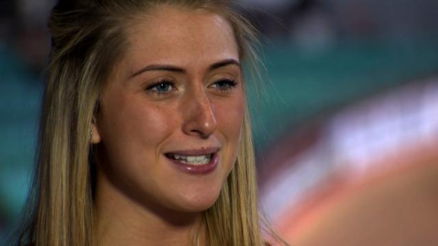 Olympic and World omnium champion, Laura Trott