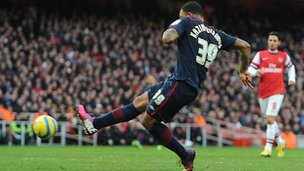 Colin Kazim-Richards scores Blackburn