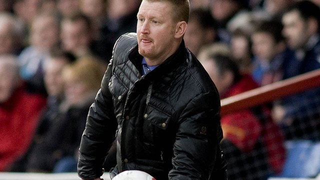 St Johnstone boss Steve Lomas