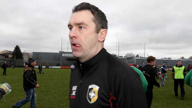 Oisin McConville after Saturday's match