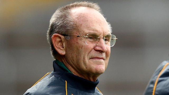 Loughgiel coach Jim Nelson
