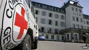 ICRC headquarters in Geneva