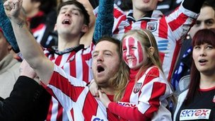 Brentford supporters