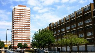 Council estate in the London Borough of Tower Hamlets
