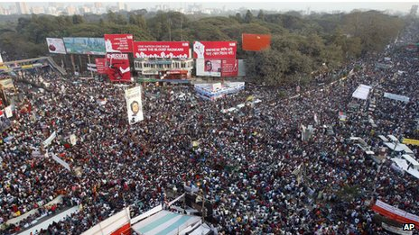 Mass protest in Bangladesh (15 February 2013)