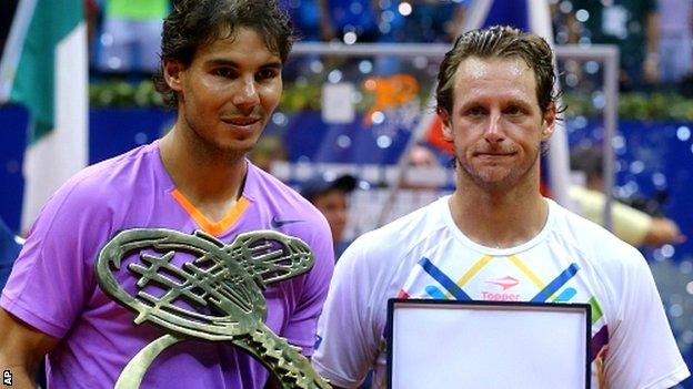 Rafael  and David Nalbandian