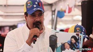 Venezuela VP Nicolas Maduro (16 Feb 2013)