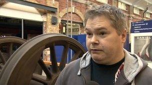 Former Honda worker Sean Stroud