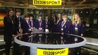 Students from Denton Community College at MediaCityUK
