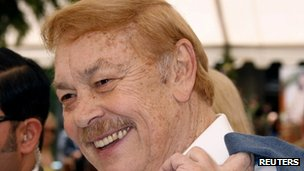 Jerry Buss file picture May 2008