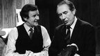 Richard Briers and Peter Jones