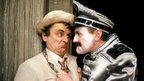 Sylvester McCoy and Richard Briers