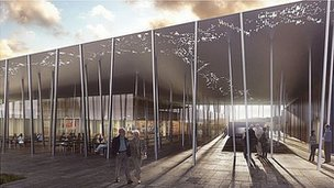 New visitor building for Stonehenge​
