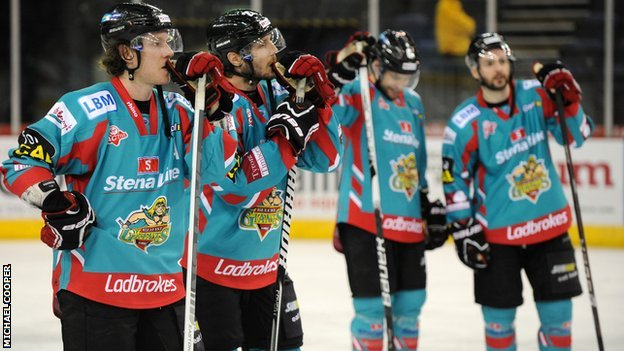 Belfast Giants players
