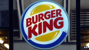 Burger King's account has now been suspended