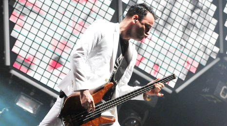 Chris Wolstenholme from Muse