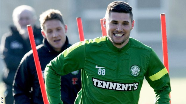 Celtic striker Gary Hooper