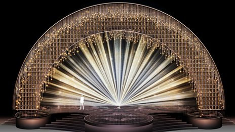 Oscars stage design