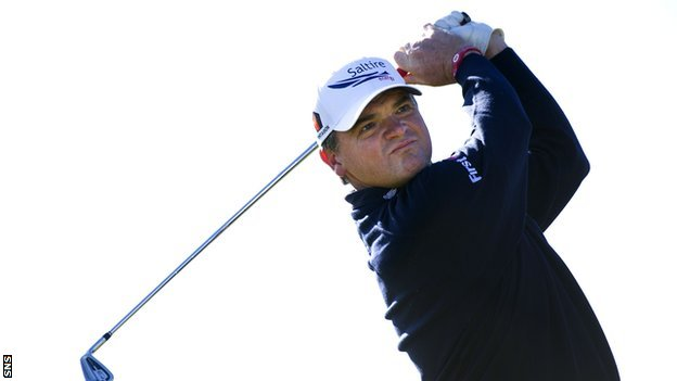 Scottish golfer Paul Lawrie