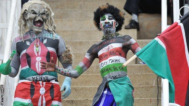 Kenya fans