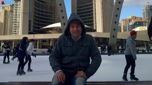 Hamid Zaher in Canada