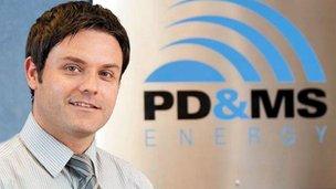Simon Rio of PD&MS
