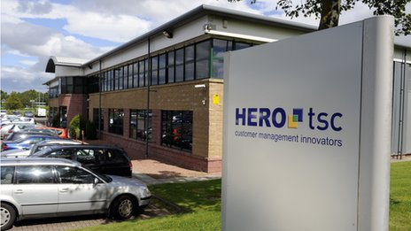 HEROtsc headquarters, Larbert