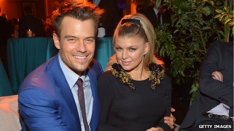 Fergie and her husband actor Josh Duhamel