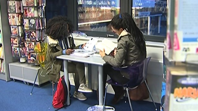 Bromley library users