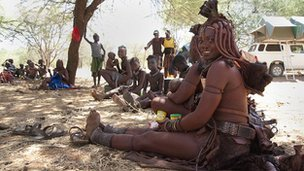 Himba people, Namibia