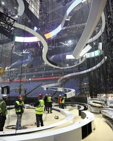 Brit Awards preparations