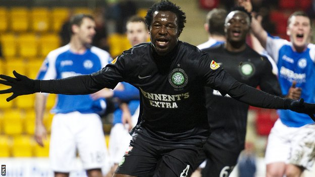 Celtic failed to build on Efe Ambrose's first-half header