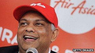 AirAsia's chief executive Tony Fernandes