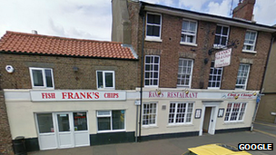 Frank&#039;s fish and chip shop, Wisbech