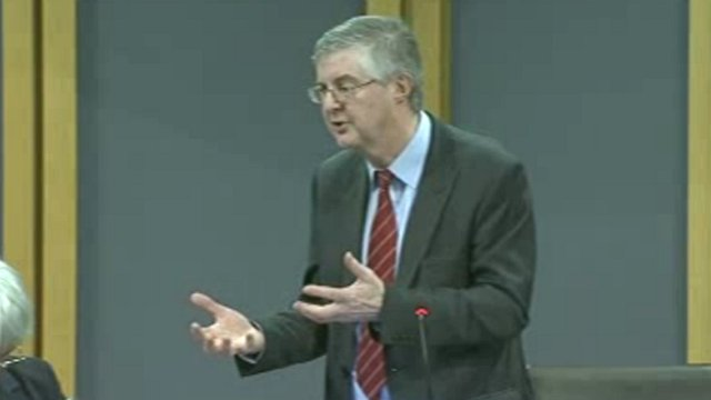 Health Committee Chair Mark Drakeford
