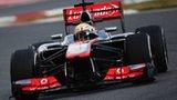 McLaren's Sergio Perez