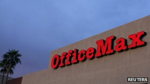 Office Max sign