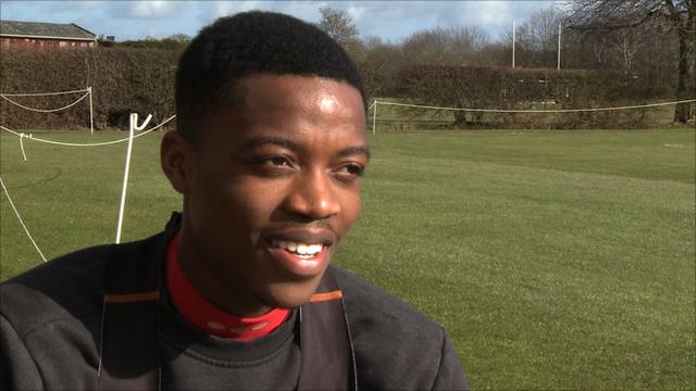 Watford midfielder Nathaniel Chalobah