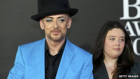 Boy George and his niece Molly