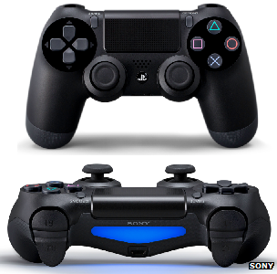DualShock4 controller